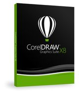 CORELDRAW GRAPHICS SUITE X8 DVD BOX ES/BR                    ES DVD