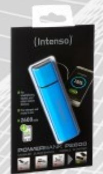 Powerbank P2600 2600 mAh blue