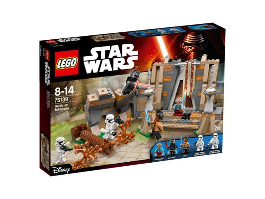 Star Wars 75139 Battle on Takodana