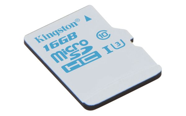 16GB microSDHC UHS-I U3 Action Card Single Pack w/o Adapter