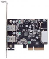 PCI Express Card 2-Port USB 3.1 2x Typ A