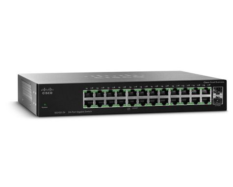 SG112-24 COMPACT 24-PORT GBIT SWITCH                           IN CPNT