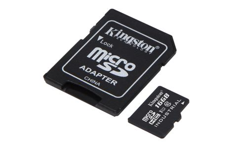 KINGSTON 16GB microSDHC UHS-I Class 10 (SDCIT/16GB)