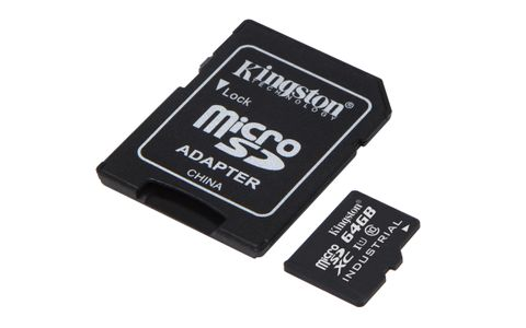 KINGSTON 64GB microSDXC UHS-I Class 10 (SDCIT/64GB)