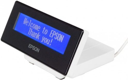 DM-D30 DISPLAY FOR TM-M30 WHITE RETAIL USB2.0 MAX40 20COL/ 2LINES IN MNTR