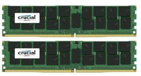 2x32GB 2400MHz DDR4 CL17 DR x4 Load ReducedDIMM 288pin