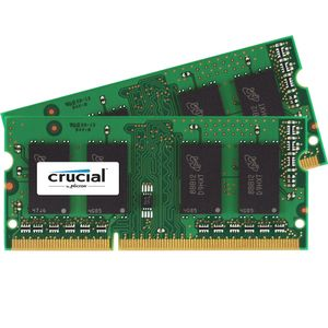 CRUCIAL 8GB KIT 4GBX2 DDR3 1866 MT/S CL13 204PIN 1.35V/ 1.5V SNGLRANK (CT2K51264BF186DJ)