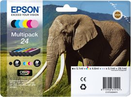 Ink Cart/ Claria PhotoHD 24 Elephant MP
