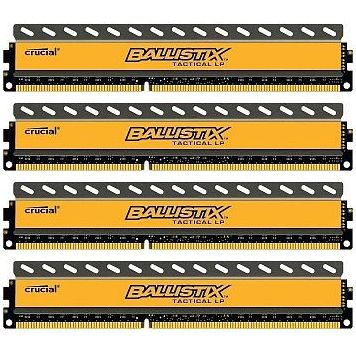 16GB KIT (4GBX4) DDR3 2133 MT/S PC3-17000 CL11 BALXTACTUDIMM 240 MEM