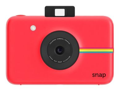 POLAROID Snap Camera /w 20 sheets /Red (POLSP01R)
