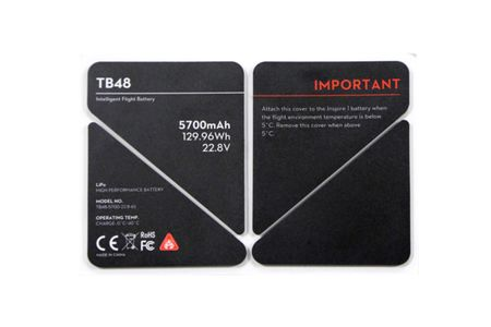 DJI Inspire TB48 Insulation sticker (CP.BX.000060)