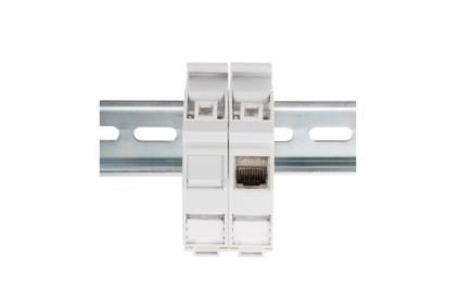DIN-RAIL ADAPTER FOR KEYSTONE MODULES IP20                     IN ACCS