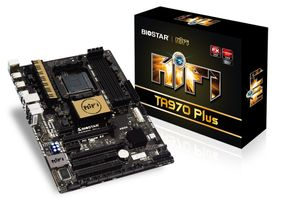 TA970 Plus, AMD 970 Mainboard - Sockel AM3+