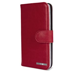 DORO Wallet Case 825 Red (6876)