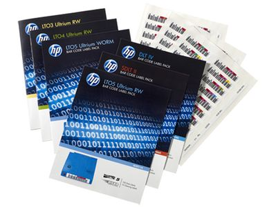 Hewlett Packard Enterprise RW BAR CODE LABEL PACK LTO7 . SUPL (Q2014A)