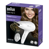 Satin Hair 3 HD 385 Power Perfection + Diffusor