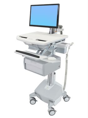 STYLEVIEW CART WITH LCD ARM LIFE POWERED TALL DRAWER SAU-EU CRTS