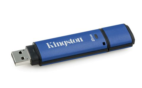 KINGSTON 8GB USB3.0 DTVP30 256bit AES (DTVP30DM/8GB)