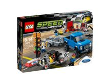 LEGO Speed Champions 75875  Ford F-150 Raptor & Ford Model A HR