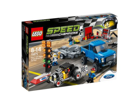 Speed Champions 75875  Ford F-150 Raptor & Ford Model A HR