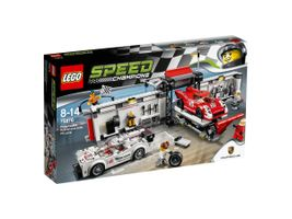 Speed Champions 75876 Porsche 919 Hybrid and 917K Pit