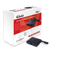 TYPE-C TO RJ 45 ETHERNET AND USB 3.0 SPLITTER