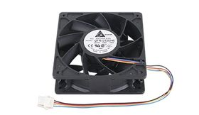 Fan DC PWM 120x38 w. Guard
