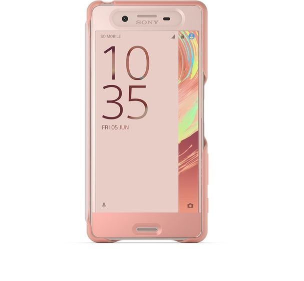 Touch Cover SCR50 Xperia X Rose G
