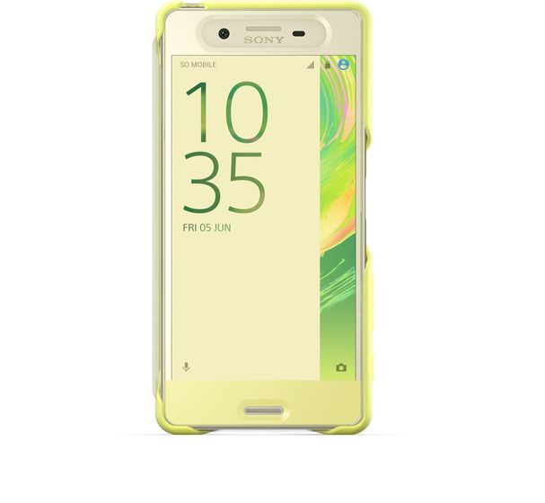 Touch Cover SCR50 Xperia X Lime G