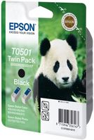 EPSON T050 Black Ink Cartridge (Twin Pack) (C13T05014210*6)