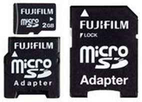2GB microSD Card High Quality incl Adapter