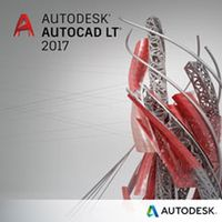 AUTOCAD LT 2017 NEW SINGLE-USER 3YR SUBSCR W/ ADVANCED SUPPORT IN