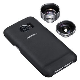 Lens Cover S7, Black Lens Cover Galaxy S7