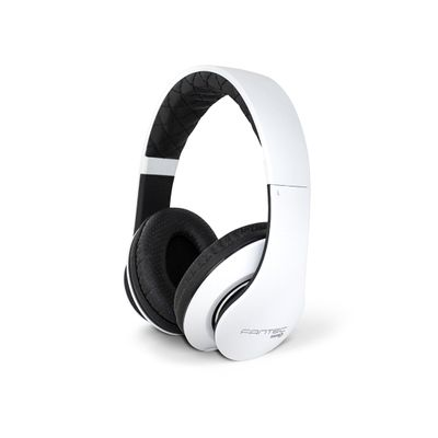 SHP-3  white/ black Stereo Headphone with Microphone A