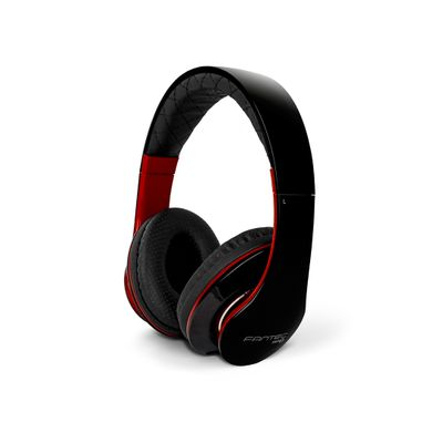 SHP-3  black/red  Stereo Headphone with Microphone,  A