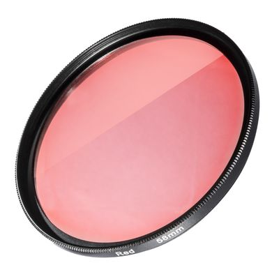 Filter red for GoPro Adapter 58 mm