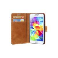 COPENHAGEN WALLET (LEATHER GALAXY S5 GOLDEN TAN)