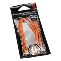 BITFENIX Alchemy 2.0 PSU Cable, 5x 40cm - orange (BFX-ALC-40CMLO-RP)