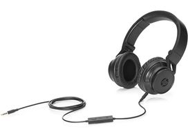 HP H3100 Wired Headphone Black