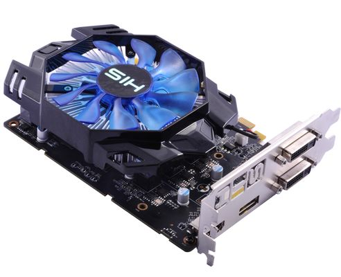 R7 360 Green iCooler OC 2GB 2xDVI/ HDMI/ DP DDR5 retail