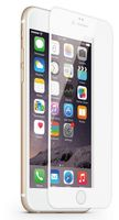 Protective Glass Frame white for iPhone 6 6s
