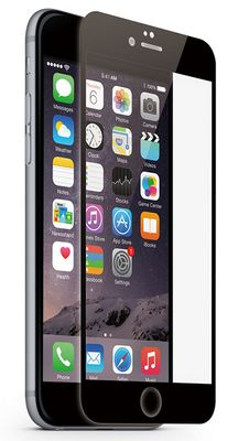 Protective Glass Frame black for iPhone 6 6s