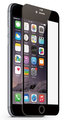 Protective Glass Frame black for iPhone 6 Plus 6s Plus