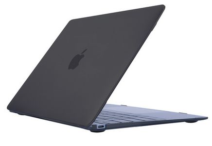 KMP Protective Case anthracite for 12  MacBook 2015 (1315120101)