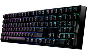 Masterkeys Pro L RGB, Tastatur Kabel Deutsch 512 KB