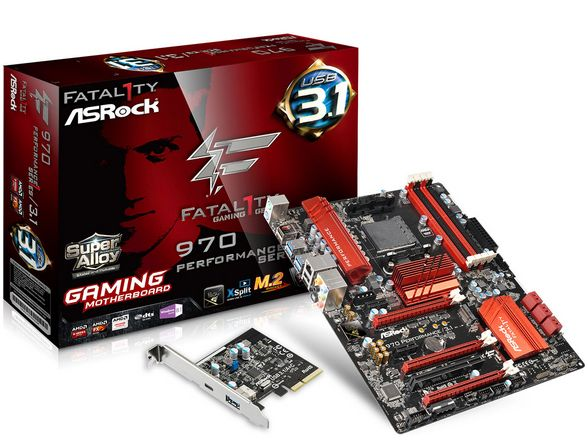 MB/ATX AMD 970 AM3+4 DDR3 32GB Gb BOX