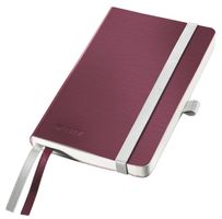 Notepad Style A6 soft ruled 80s. red