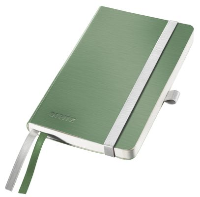 Notepad Style A6 soft ruled 80s. green