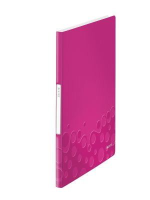 Display Book WOW  PP 20 Pockets pink