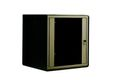 DIGITUS 16U wall mounting cabinet 820x600x450 mm. Black (R Factory Sealed